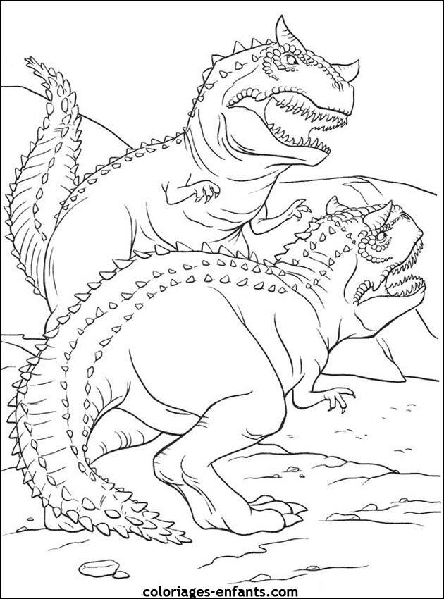 colorier les dinosaures